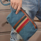 New Brand Men's Striped Canvas Bags Convenient  Handbags For Small Parts AB183