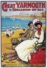 TW69 Vintage Great Yarmouth Gorleston On Sea Classic Travel Poster A1/A2/A3/A4