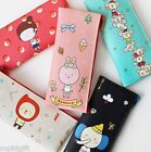 Momo's Blog Pencil Case Pen Pocket Pouch PU Holder Storage Bag Cute Kawaii Korea