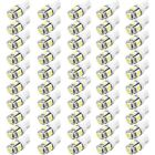 50x T10 5050 SMD LED White Car Side Wedge Tail Light Lamp Bulb 12V lots N4U8
