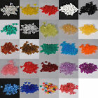 200 Pieces 11mm Tri Bead Acrylic USA Made 40060000  (Choose Color)
