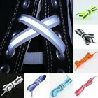 Flat Dual Coloured Reflective High Visibility SHOE LACES SHOELACES BOOTLACES