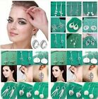 Special Price wholesale fashion beautiful Ladies solid silver Earrings+box925