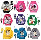 Mickey Mouse/Minnie Mouse/Kitty Cat Kids Boys Girls Unisex Hoodies Aged 2-8Years