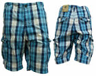 Timberland Plaid Cargo Shorts Mens (1852J 973)
