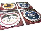 Personalised Name 3 in 1 Bottle Opener/Coaster/Fridge Magnet J -- R