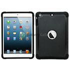 Hybrid Rugged Rubber Matte Hard Case Cover Skin for Apple iPad mini