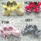 Baby Girls Infant Soft Cloth Bottom Sole Toddler Warm Shoes Skidproof Wave Style