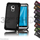NEW STYLISH SHOCK PROOF SERIES CASE COVER FOR HTC One Max (T6) SCREEN PROTECTOR