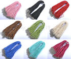 U Pick(12colors)10PCS Soft Velvet Korea Frosting Cord Thread  Necklace 450MM