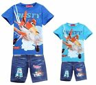 Kids Boys Girls Planes Dusty Skipper Dottie T-Shirt +Jeans Shorts Suits 2-8 Yeas