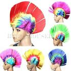 MultiColor Punk Mohawk Rocker Wigs Mohican Wig For Fancy Party Dress Costume