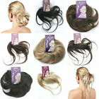 A-List Twist Fix Hair Scrunchy Feathered Scrunchie Bun Blonde Brown Rrp. £19.19!