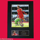 ADAM LALLANA Southampton Signed Autograph Mounted Photo RE-PRINT A4 450