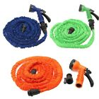Multi-color 100FT Expandable Flexible Garden Water Hose With Spray Nozzle Head