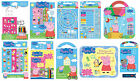 PEPPA PIG & GEORGE COLOURING STICKER ACTIVITY PACKS TRAVEL GIFT SETS MAGNETS