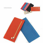 New Women Slim Wallet Long Wallet Zipper Slim Credit Card Holder Simple Purse