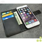 """Luxury Leather Wallet Case Cover Folio Skin Pouch Stand For Apple iPhone 6 4.7"""""""