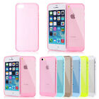 Crystal Clear Transparent TPU Rubber Silicone Soft Cover Case for iPhone 5 5G 5S
