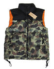 Polo Ralph Lauren Denim & Supply Mens Camo Down Feather Flag Vest Jacket Coat