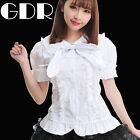 GOTHIC DOLLY PUNK WHI Lolita CUTE 81135 SHIRT S-L