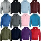 Gildan Heavy Blend Adult Hooded Plain Sweatshirt Top