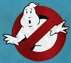 "LARGE Ghostbusters 1 style 8"" [inch] No Ghost Embroidered Iron-On Patch"