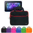 Handle Carrying Portfolio Sleeve Case For Visual Land Prestige Pro 9D 9 Tablet