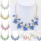 New Elegant Sweet Fresh Gemstone Necklace Chunky Collar Bib Statement Party