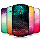 HEAD CASE PRINTED STUDDED OMBRE BACK COVER FOR SAMSUNG GALAXY S3 III MINI I8190
