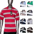 CalTop Brand - Men's Stripe Polo Shirt