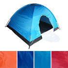 Backpacking Easy-Up 4 Person Dome Tent Camp Backpack Vented Roof Insect Screen