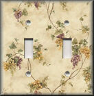 Switch Plates And Outlets - Tuscan Trailing Grape Vines - Kitchen Decor