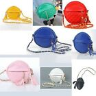 Stylish Chain Strap Round Small Shape Tassel Shoulder Bag 8 Colors Supply--Z