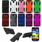 Color Rugged Hybrid Case Cover for Samsung Galaxy Note III 3 N9000 +Clip Holster