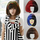 Cool New LOLITA Curly Wave Short Hair Wig Anime Disco Cosplay Party Full Wigs