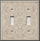 Switch Plates And Outlets - French Pattern Image - Light Tan - Home Decor