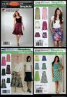 Simplicity Misses Skirt  SEWING PATTERN 4681, P2137, 2184, 2258 Size 8-22 UC
