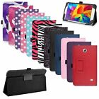 """Folio Leather Case Cover Stand For Samsung Galaxy Tab 4 7.0"""" 7-inch T230 Tablet"""