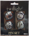 Twilight 4 Pin Badge set  OFFICIAL NECA Edward Bella New