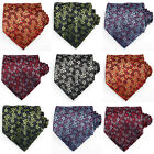 UK Mens Neckties - Floral Print Business Ties - Elegant always at your side