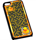 Retro Maze Game Puzzle Hard PC Bumper Case Cover For Iphone 5C Beautiful Girl