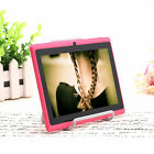 """iRulu 7"""" Android 4.2 Dual Core Camera Tablet 8GB A23 1.5GHz WIFI Pink w/Holders"""