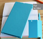 Slim PU Leather Case Flip Phone Cover For Sony Xperia Z Ultra XL39h Case #FG