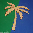Palm Tree Unfinished Wood Shape Cut Out HPT5114 Crafts Lindahl Woodcrafts