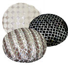 ms+5 colors Black Grey Mauve Ash Besige Brown Shimmer Velvet Round Cushion Cover