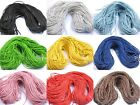 10 Colours 2M/100M Man-made Leather Braid Rope Hemp Cord For Necklace Bracelet