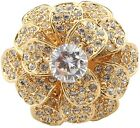 Zest Swarovski Crystals Flower Ring