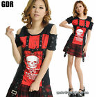 Freeship X LOLITA GOTHIC LACE SHIRT CUTE PUNK 71234 RED M-L