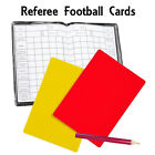 Coloured Football Referee Score Card Set Pencil Detailed Note  Sheets Wallet